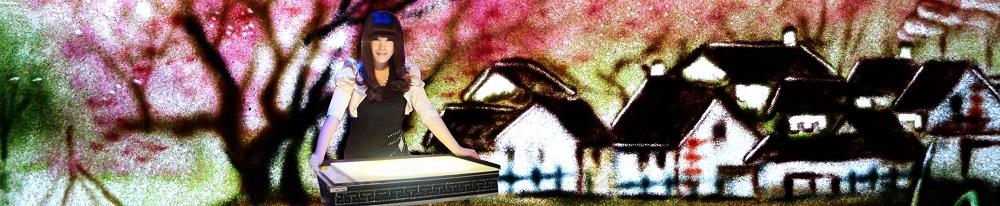 中国著名女沙画表演艺术家维维