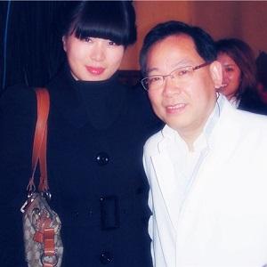 维维与香港歌手张明敏
