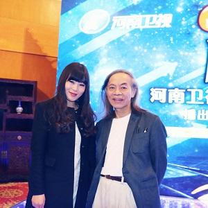 维维与台湾著名漫画家蔡志忠