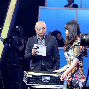 维维与著名主持人王凯老师
